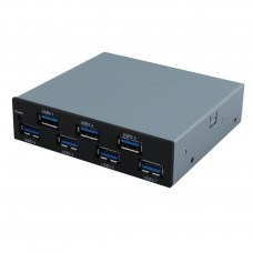 SEDNA -  USB 3.1 ( Gen I ) 7 Port Internal Hub ( Floppy Bay )