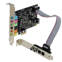 SEDNA - SE-PCIE-SC-10 High Quality PCIe 7.1 Channel Sound card ( CM8828 + CM9882A ) with SPDIF Bracket