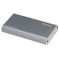 SEDNA - USB3.1 (GEN II) mSATA SSD (10Gbps) External Enclosure (Type C connector ) , Super slim size